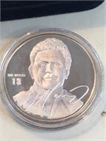 1993 One Ounce Silver Token NFL Dan Marino