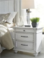 Ashley B777 Kanwyn Antique White Nightstand