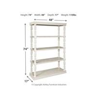 Ashley A4000241 Dannerville White Bookcase