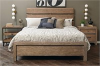 Queen - Samuel Lawrence Flatbush Oak Panel Bed