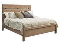 King - Samuel Lawrence Flatbush Oak Panel Bed