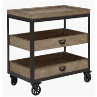 Samuel Lawrence 3 Tier Stand w/Iron Casters
