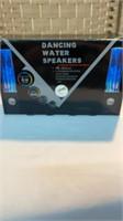 Dancing Water Speakers  USB  HI FI