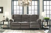 Ashley 98606 Gray Reclining Sofa & Love Seat