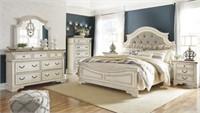 Queen - Ashley B743 Raelyn 5 pc Bedroom Suite