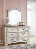Ashley B743-21/26 Realyn Youth Dresser & Mirror