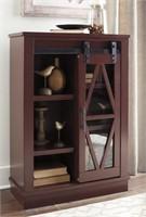 Ashley A4000134 Red Modern Farmhouse Bookcase