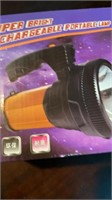 Bright Rechargeable Portable Flashlight