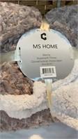 MS HOME Manta Super-soft Throw