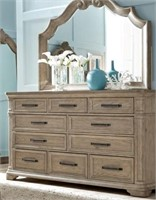 King Pulaski Monterey 4 pc Bedroom Suite
