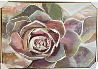 36x48 Rose Canvas Art