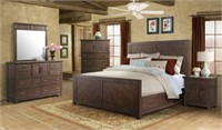 Queen - Elements Jax 5 pc Storage Bedroom Suite