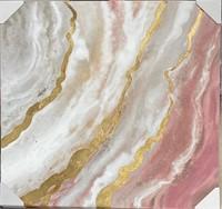 36x36 Earthy Pink Wall Art
