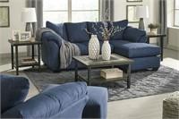 Ashley 75007 Darcy Bluel Sofa w/Chaise