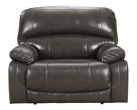 "Ashley U52403 HUGE Leather 54"" PWR Recliner"