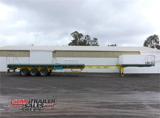 1994 Krueger Flat Top Trailer Semi Trailer Sales - Trailers for Sale