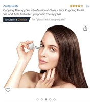 Cupping Therapy Sets Professional Glass - Face