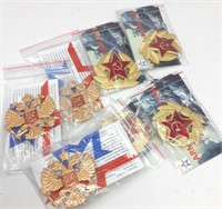 Lot of Russian Military Red Army Hat