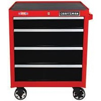 """Craftsman 26"""" 4 Drawer Rolling Tool Chest"""
