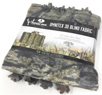 Mossy Oak Omnitex 3D Blind Fabric, Leafy Break-Up