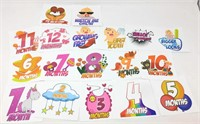 Belly Stickers for Recording Each Month of Your
