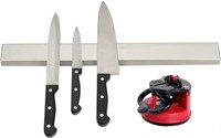 Powerful Magnetic 16 inch Stainless Steel Knife