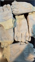 6 Pair Work/Gardening Gloves