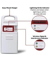 New AcuRite Lightening Detector Sensor