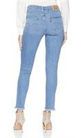 New Women's Size 00 Levi's High Rose Skinny Jeans