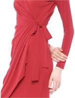 New Lark And Ro Women's Small Wrap Dress Long
