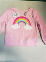 New with tags. The Children's place pink rainbow