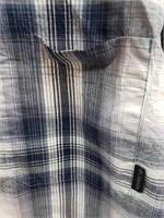 Columbia plaid short sleeve button up size 4XT.
