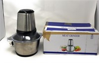 NGOZI Meat Grinder, Electric Food Chopper (2L