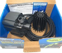 Pondmaster Magnetic Drive Pump 7, Black, (700