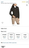 New Ariat Women's New Team Softshell Jacket