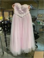 New Women's size 16 lace up fancy dress