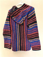 El Paso saddle blanket co Rasta style hoodie size