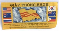 Safe Conduct Pass To Be Honored By All Vietnamese