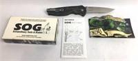 SOG 20th Anniversary Pocket Knife