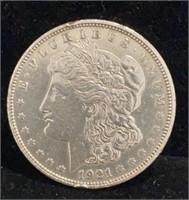 1921-D Morgan $1 Dollar Coin