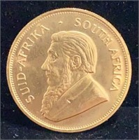 1980 One Ounce Gold South African Krugerrand