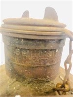 1920s Metal 5 gallon  Fuel Can