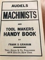 1941 /1942 AUDELS machinists book