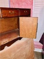 Vintage Oriental Apothocary chest