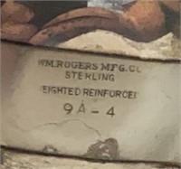 William Rogers Sterling 3 Lite Pr Candlesticks