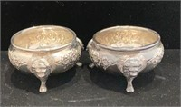 Pair of Dunkirk Sterling Master Salts