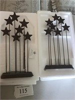 Willow Tree Figures: Metal Star Backdrop