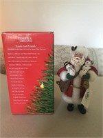 """""""Santa and Friends"""" Figure with Box"""