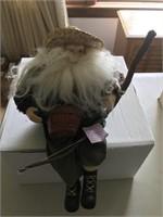 Fishing Santa