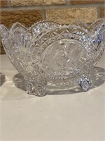 Glass Frosted bowls